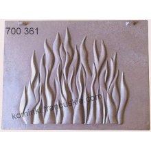 Tylna płyta paleniska 700361 - 470x355mm (Gabo,Invicta,Laudel)