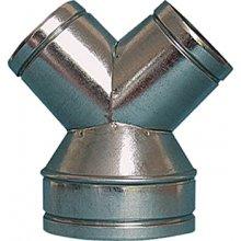 Trójnik redukcyjny Y fi150 na 2x125mm