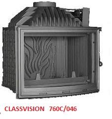 wkład kominkowy Fonte-Flamme Classvision 760c/046