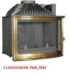 wkład kominkowy Fonte-Flamme Classvision 760c/047