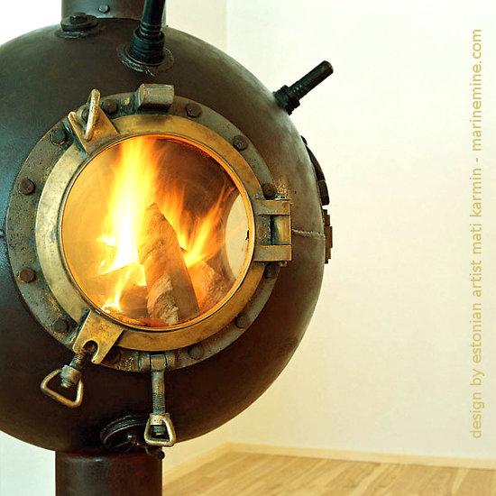 Kominki z min morskich autorstwa Mati Karmin