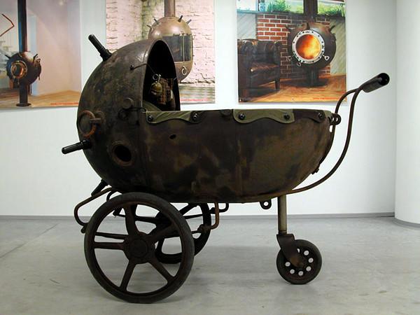 Wózek dziecięcy by Mati Karmin